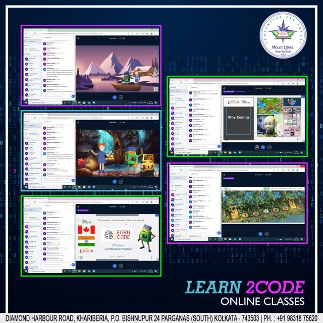 Learn2Code Online Classes
