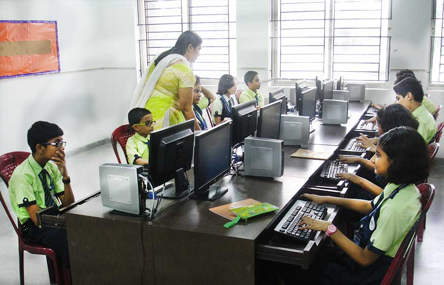 Students at Computer Lab